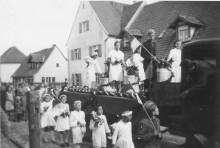 Glockenweihe der katholischen Kirche 1951